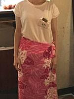 メンズエステの衣装「パレオ系」