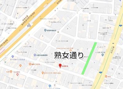 松島新地の熟女通り